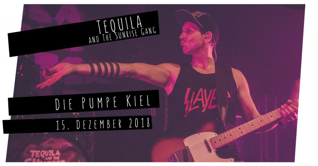 Tequila & The Sunrise Gang live in Kiel
