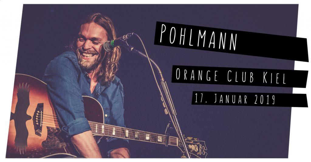 Pohlmann live in Kiel