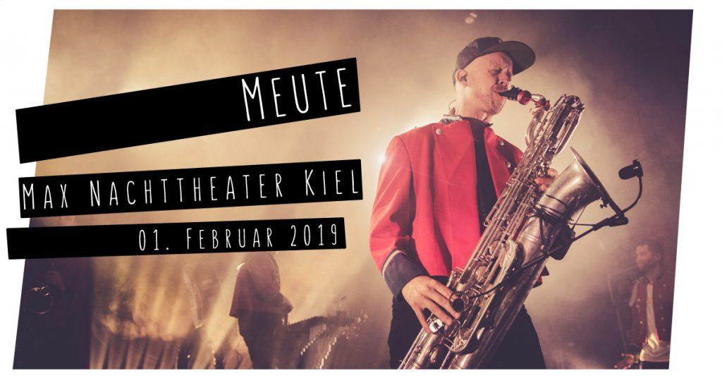 Meute live in Kiel