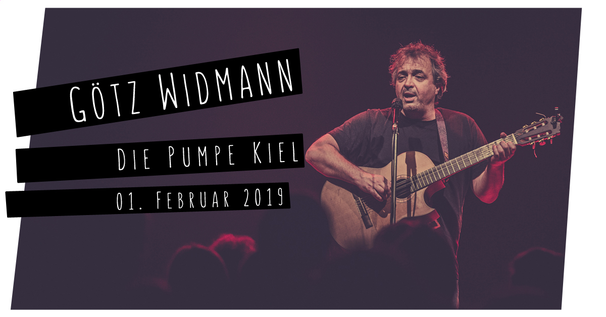 Götz Widmann in der Pumpe in Kiel