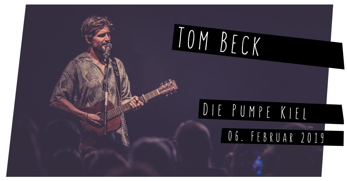 Tom Beck im MAX Nachttheater in Kiel
