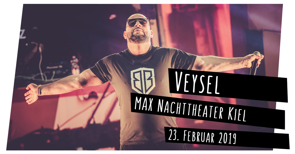 Veysel im MAX Nachttheater in Kiel