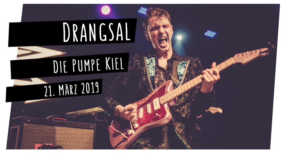 Drangsal in der Pumpe in Kiel