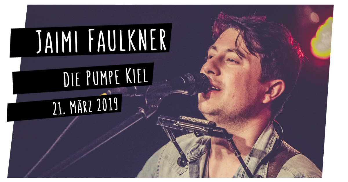 Jaimi Faulkner in der Pumpe in Kiel