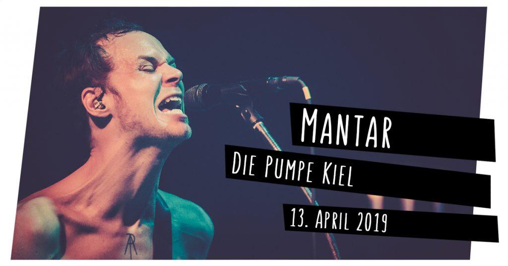 Mantar live in Kiel