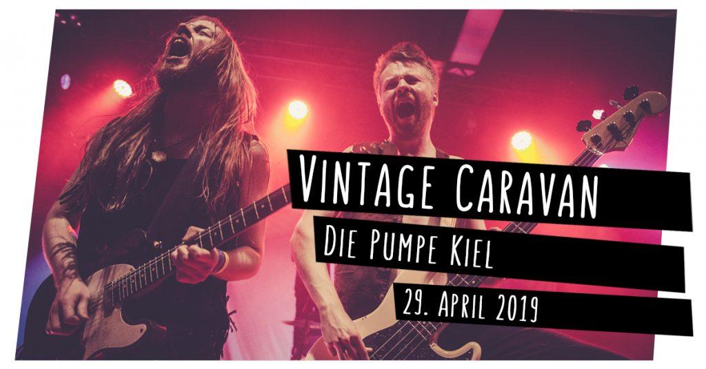 Vintage Caravan live in Kiel