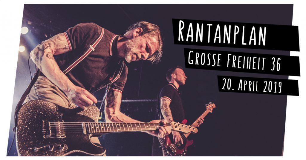 Rantanplan live in Hamburg