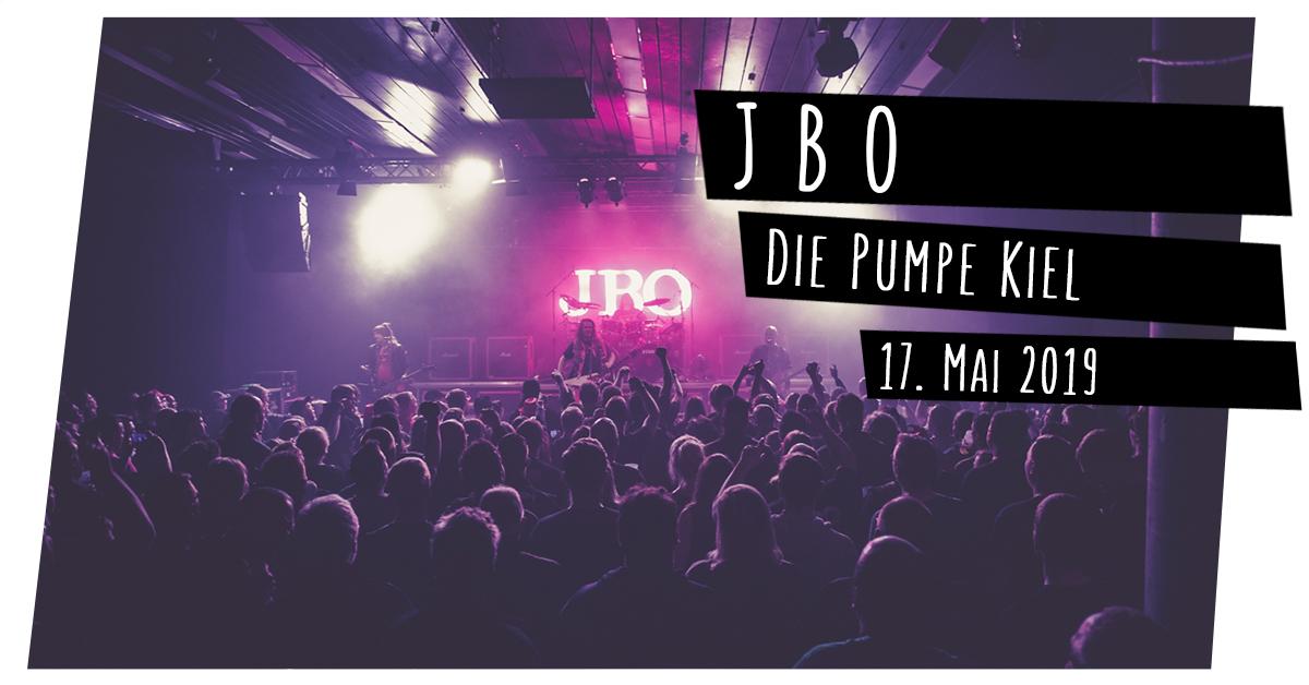 Konzertfotografie: JBO in der Pumpe in Kiel
