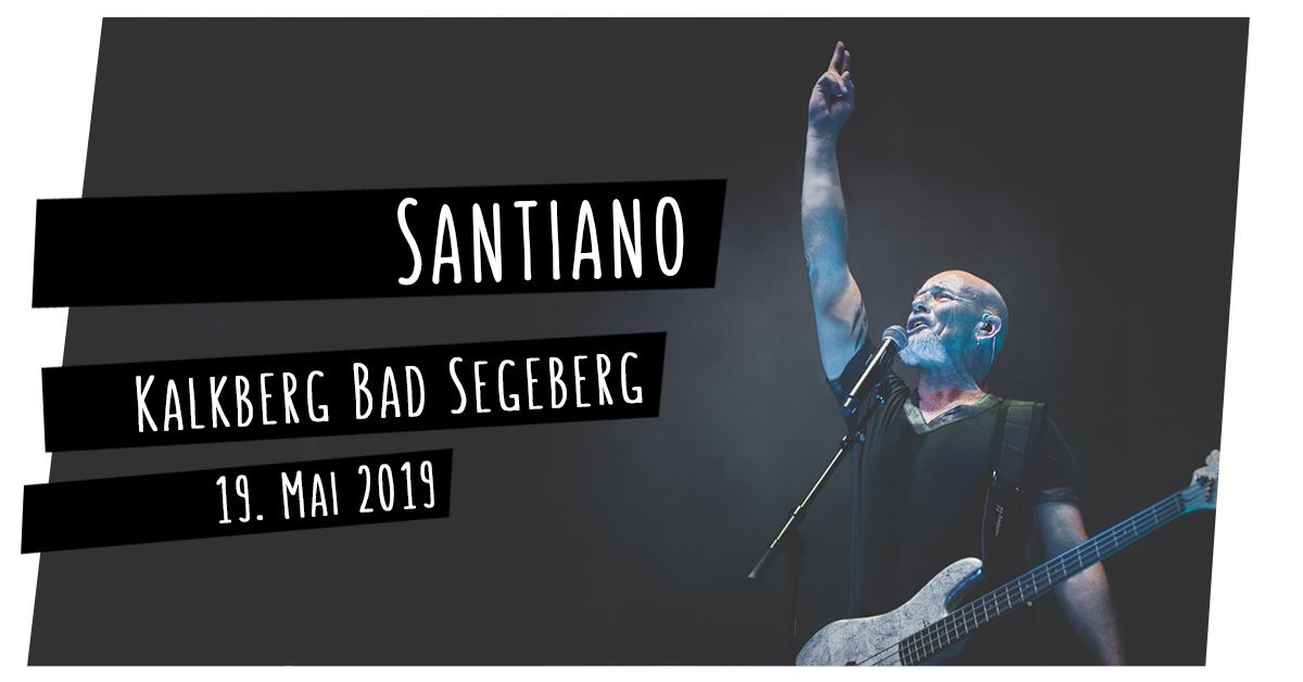Konzertfotografie: Santiano in der Kalkberg-Arena in Bad Segeberg