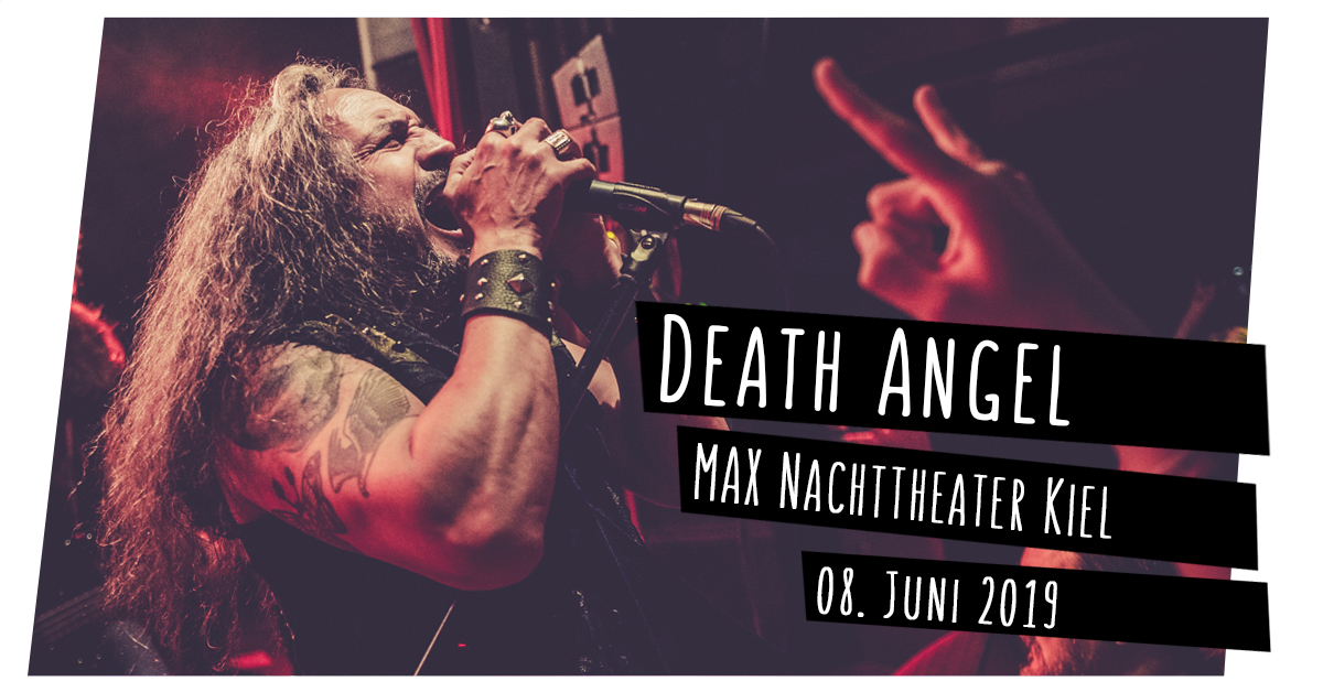 Konzertfotos: Death Angel im MAX Nachttheater in Kiel
