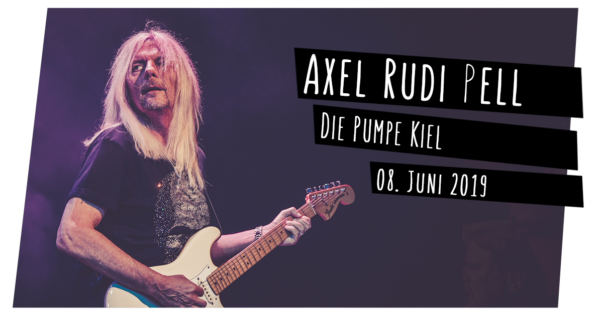 Konzertfotos: Axel Rudi Pell in der Pumpe in Kiel
