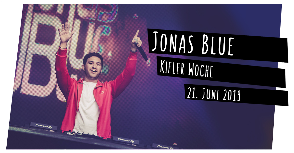 Konzertfotos: Jonas Blue auf der Kieler Woche in Kiel