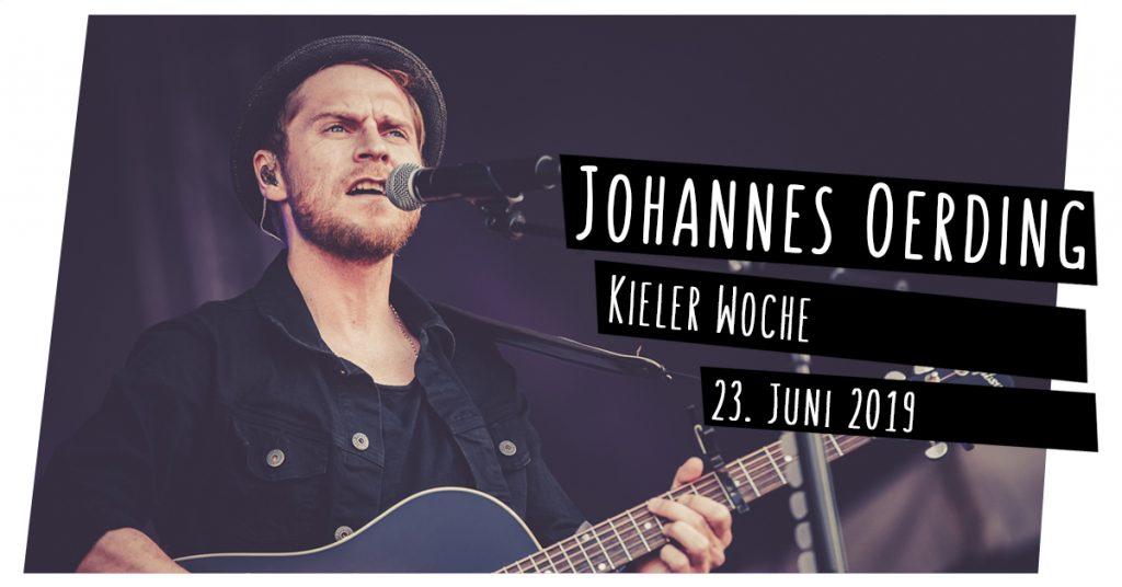 Johannes Oerding live in Kiel