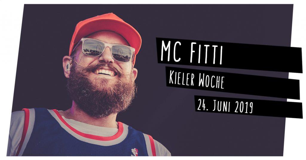 MC Fitti live in Kiel