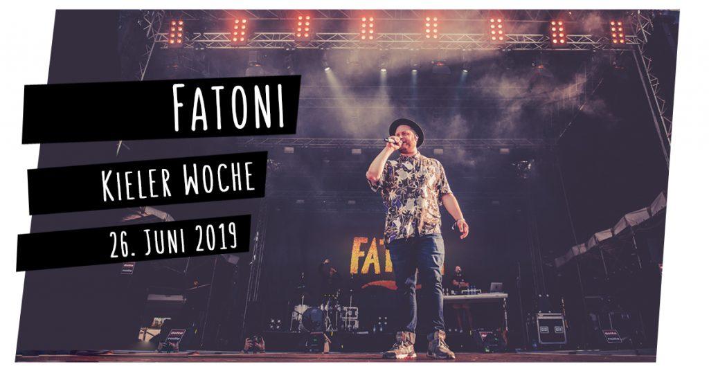 Fatoni live in Kiel