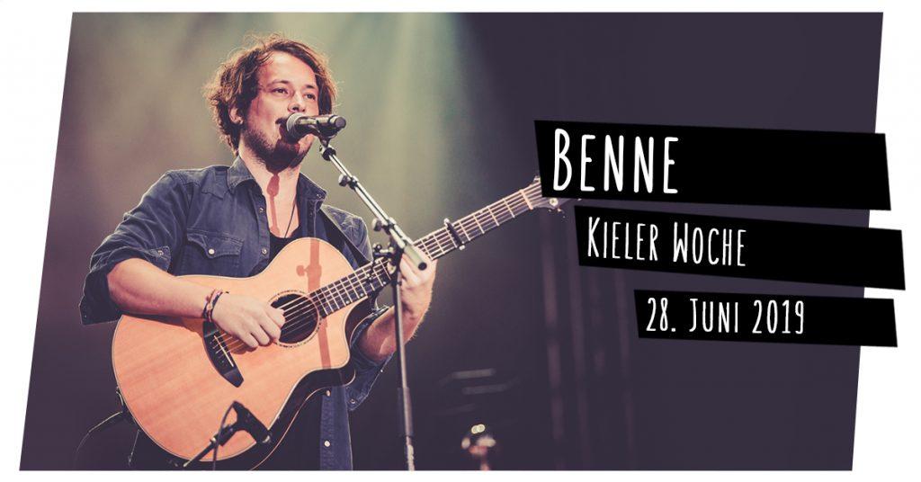 Benne live in Kiel