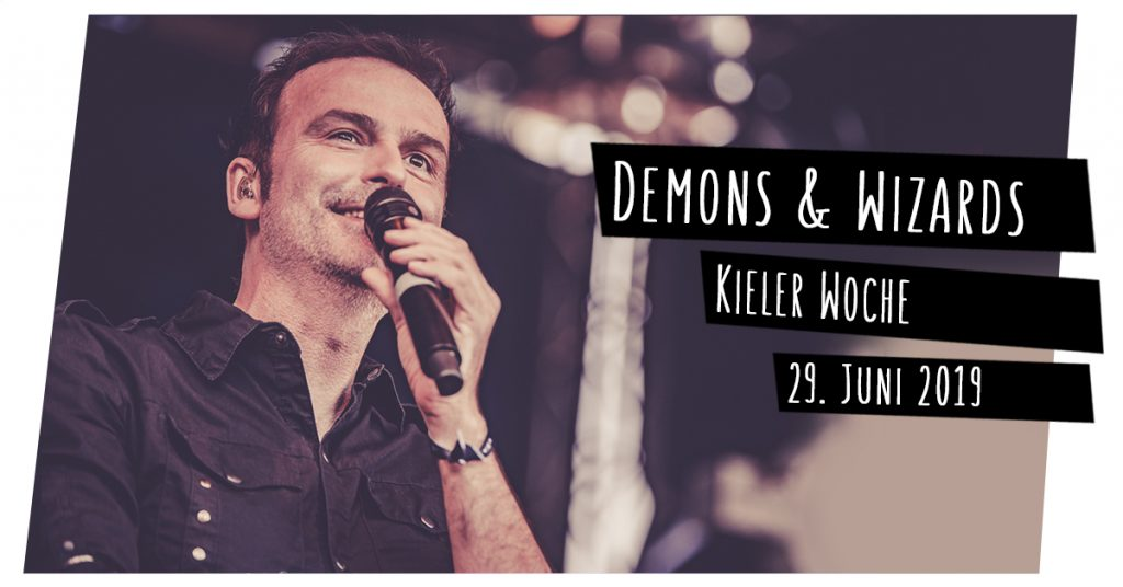 Demons & Wizards live in Kiel