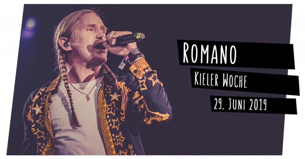 Romano live in Kiel