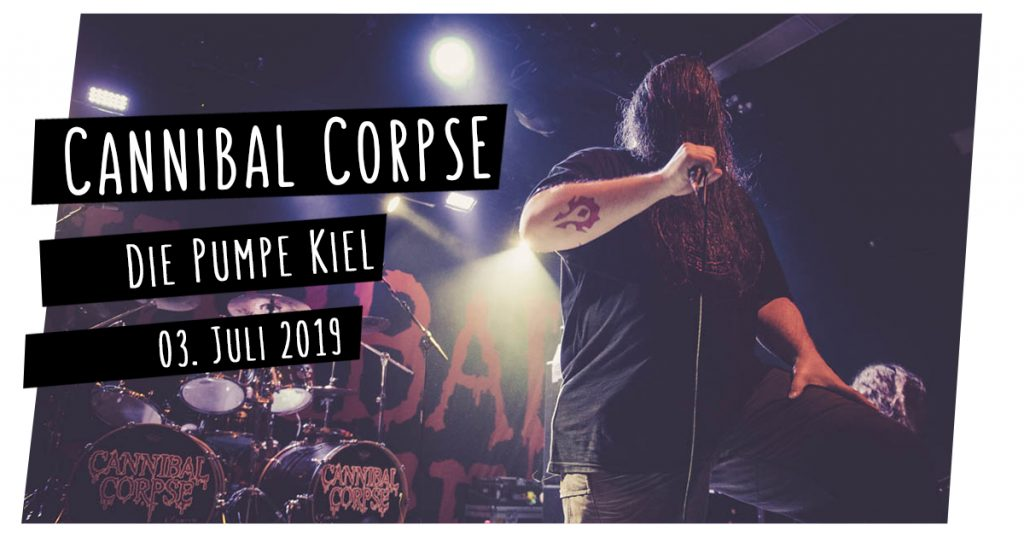 Cannibal Corpse live in Kiel