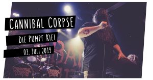 Read more about the article Cannibal Corpse live in Kiel