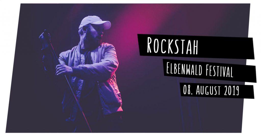 Rockstah auf dem Elbenwald Festival