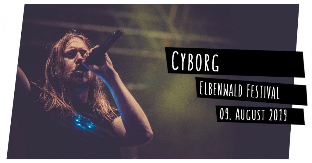 Cyborg auf dem Elbenwald Festival
