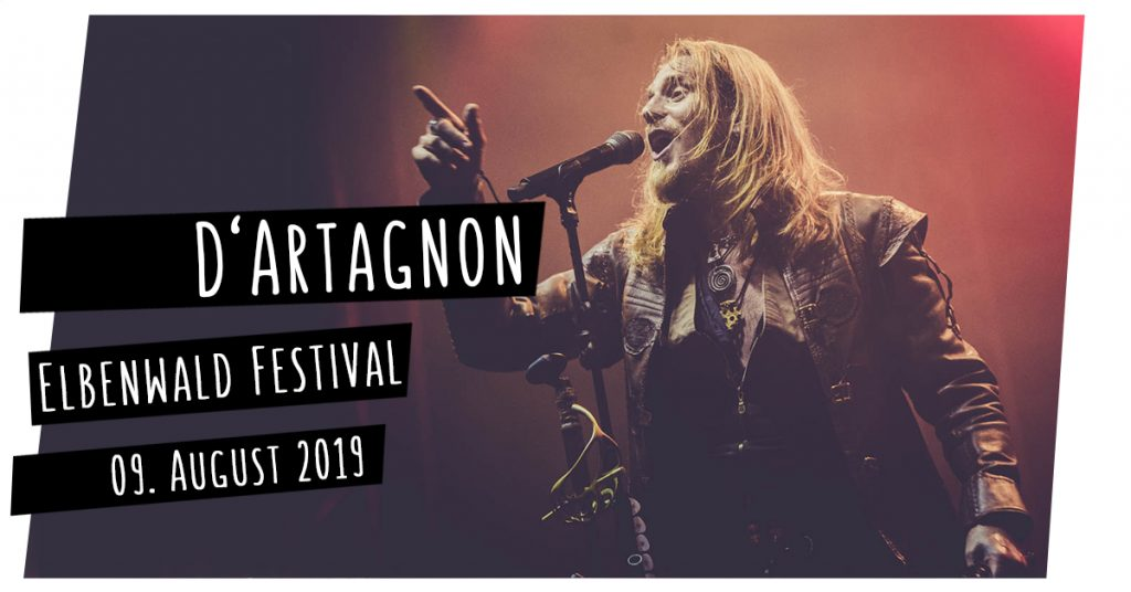 D'Artagnon auf dem Elbenwald Festival