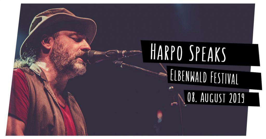 Harpo Speaks auf dem Elbenwald Festival