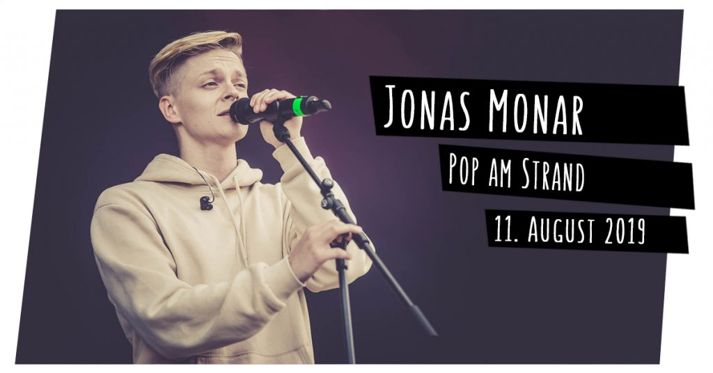 Jonas Monar bei Pop am Strand