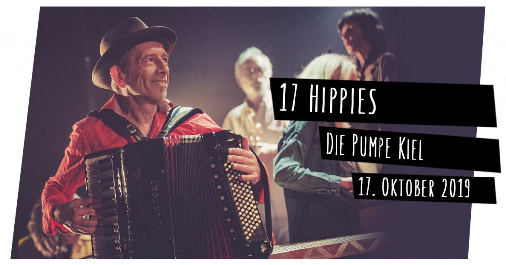 17 Hippies live in Kiel