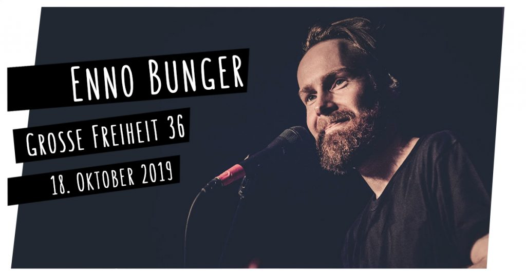 Enno Bunger live in Hamburg