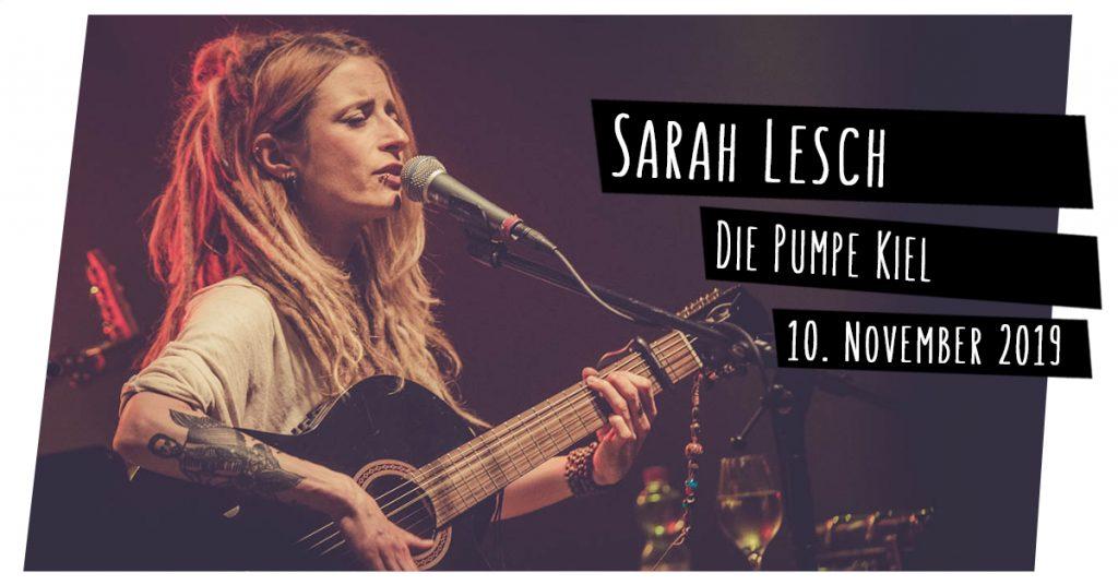 Sarah Lesch live in Kiel