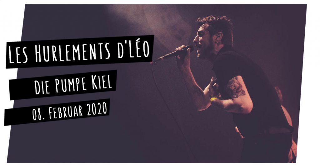 Les Hurlements d'Léo live in Kiel