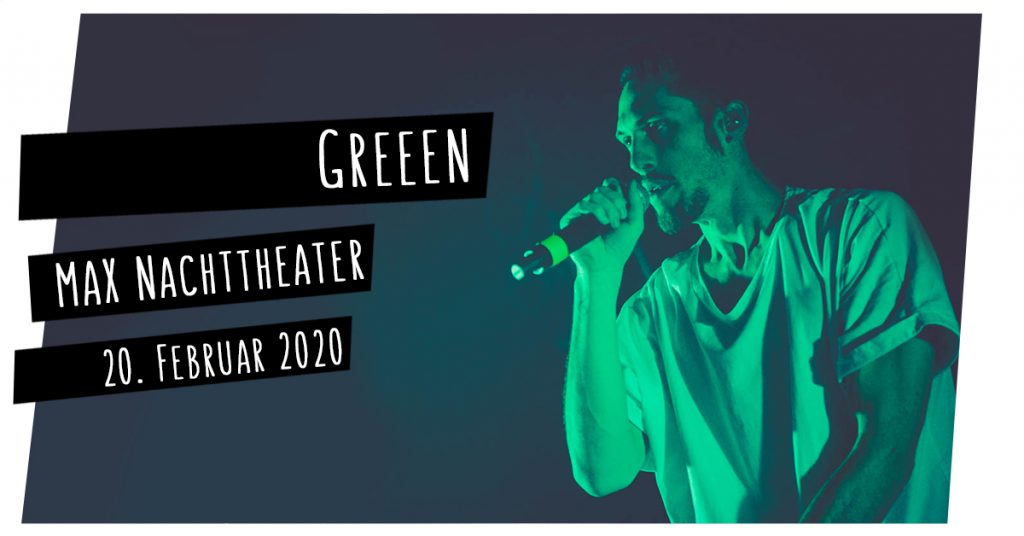 Greeen live in Kiel