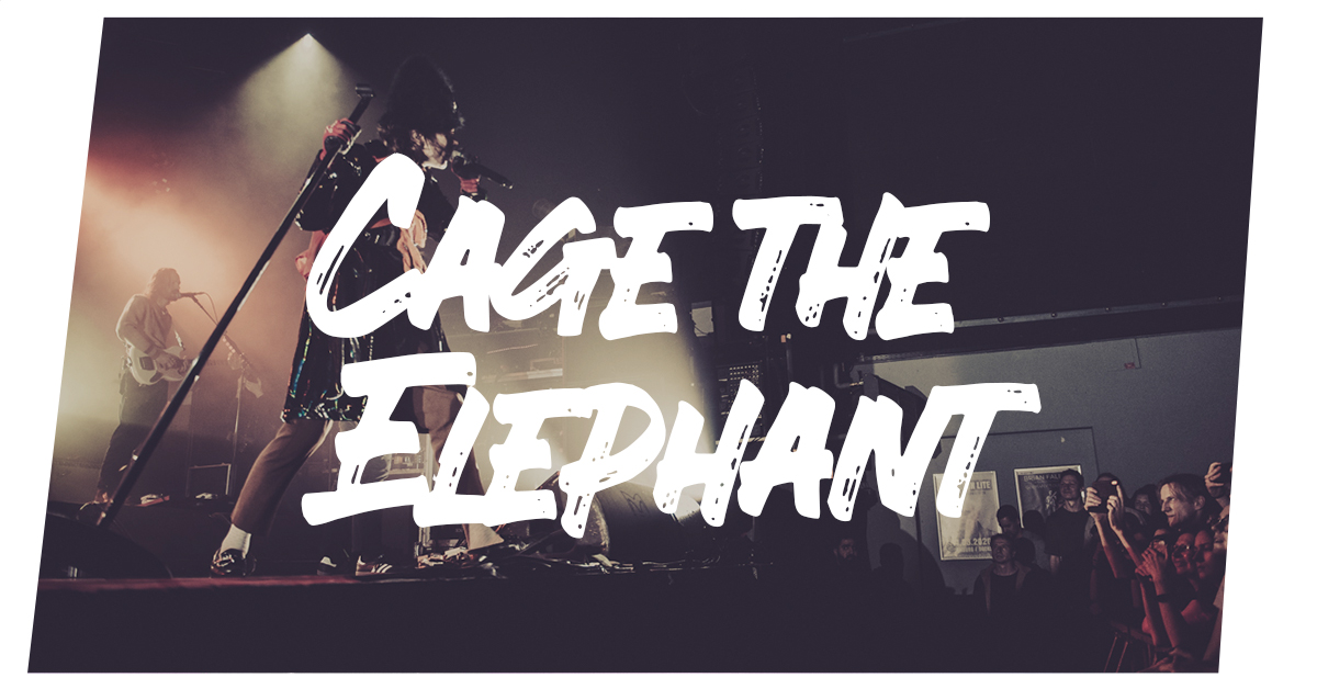 Konzertfotos Cage the Elephant live in Hamburg