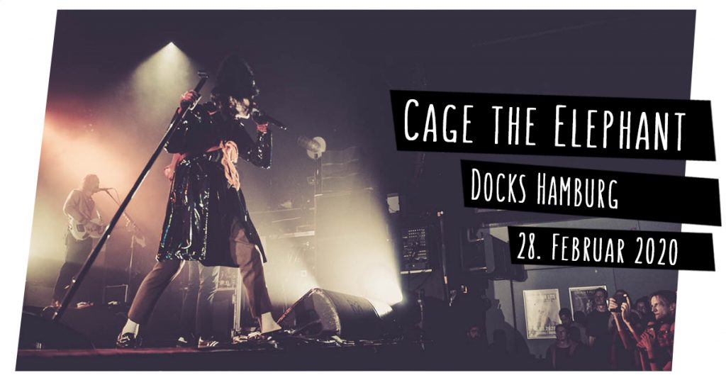 Cage the Elephant live in Hamburg