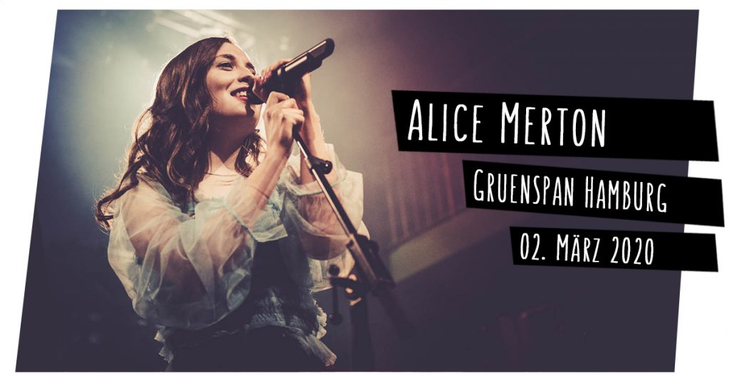 Alice Merton live in Hamburg