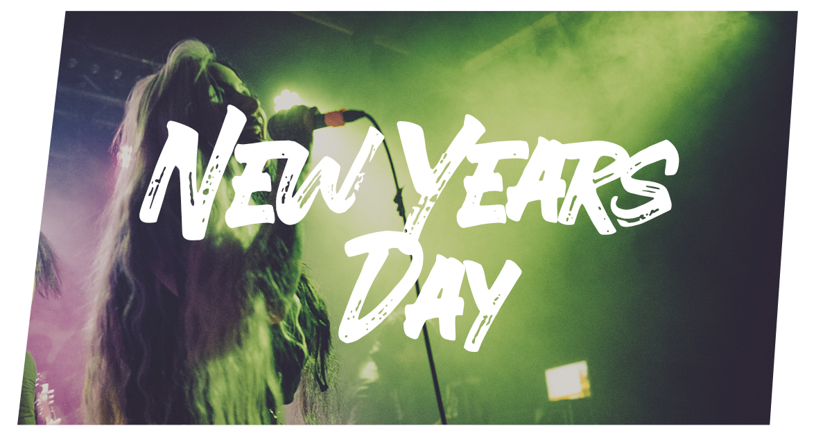 New Years Day live in Hamburg