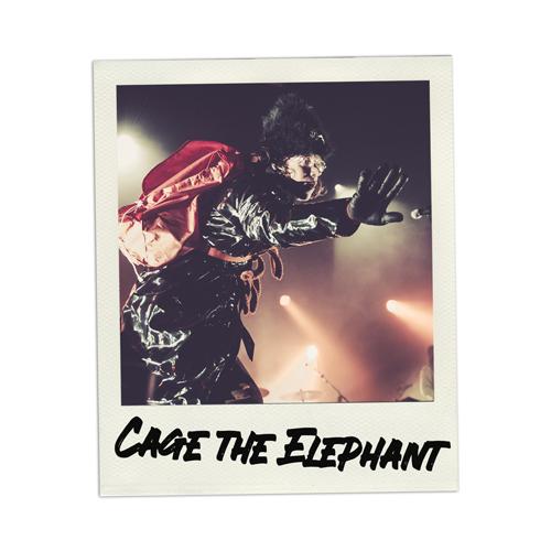 Konzertfoto Cage the Elephant live in Hamburg - Fabian Lippke Konzertfotograf Kiel
