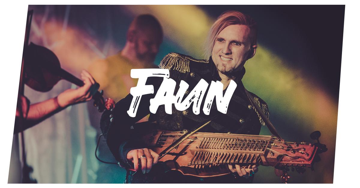 Konzertfotos Faun live in Kiel