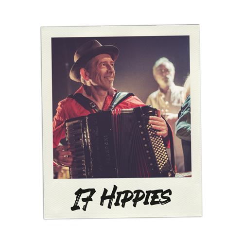 Konzertfoto 17 Hippies live in Kiel - Fabian Lippke Konzertfotograf Kiel