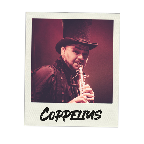 Konzertfoto Coppelius live in Luhmühlen - Fabian Lippke Konzertfotograf Kiel