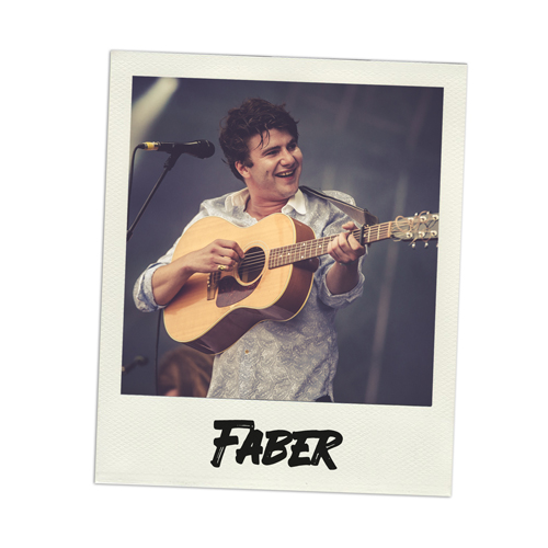 Konzertfoto Faber live in Luhmühlen - Fabian Lippke Konzertfotograf Kiel