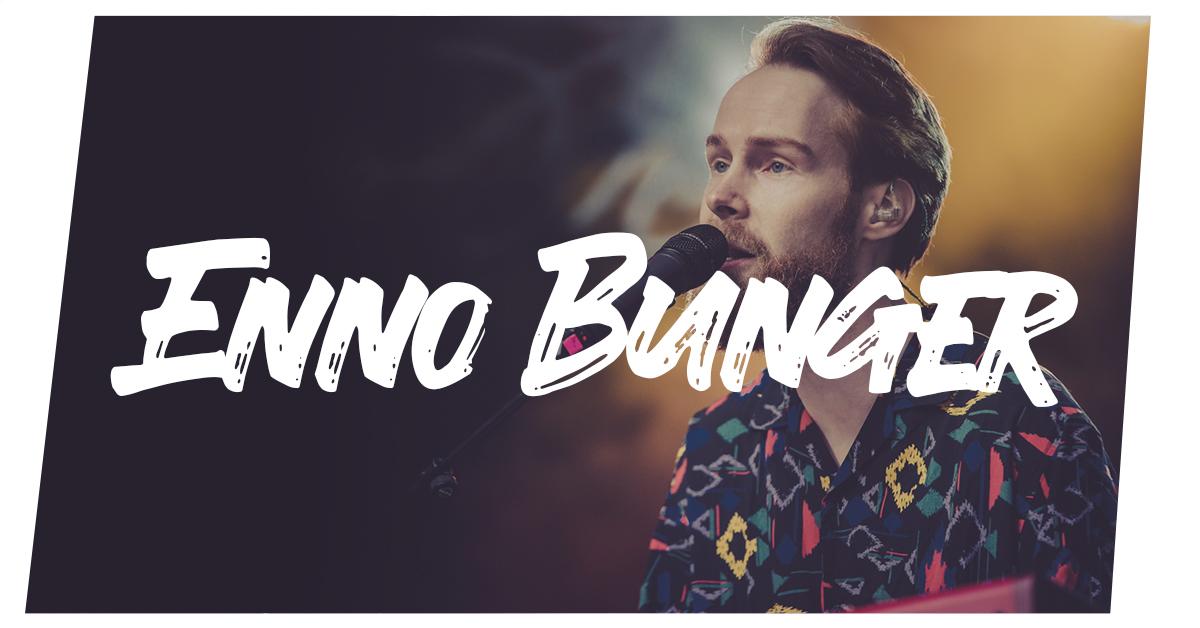 Enno Bunger auf dem Summer's Tale