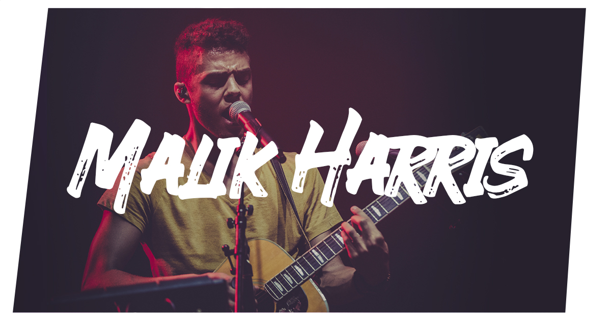 Malik Harris auf dem Elbenwald Festival