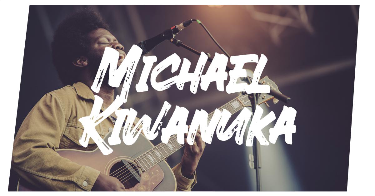Michael Kiwanuka auf dem Summer's Tale