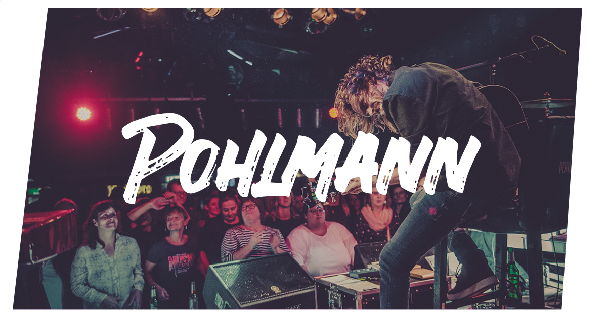 Pohlmann live in Lübeck