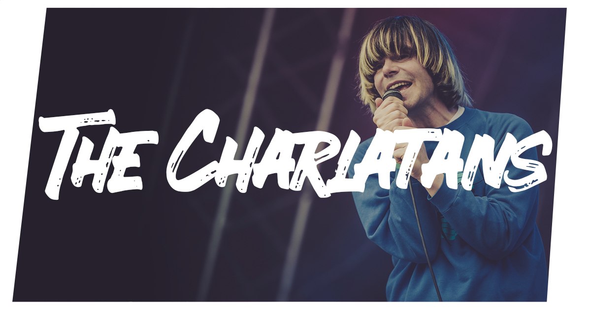 The Charlatans auf dem Summer's Tale