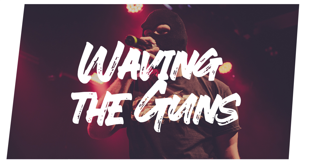 Read more about the article Waving the Guns live in Kiel