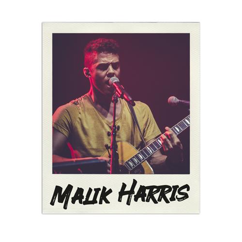 Konzertfoto Malik Harris live in Luhmühlen - Fabian Lippke Konzertfotograf Kiel